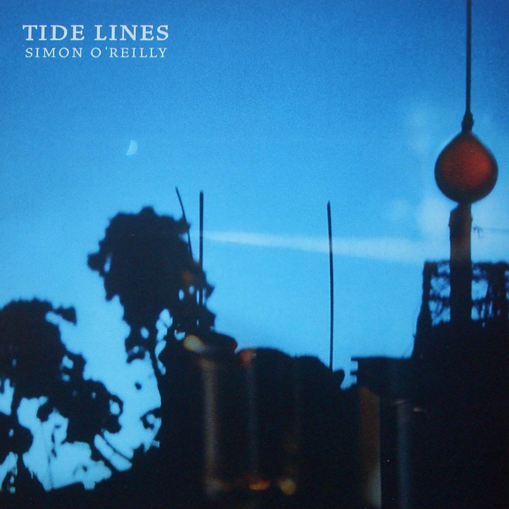 simonn o'reilly tidelines album cover